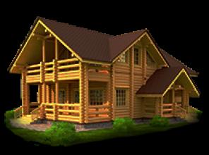 Срубы домов в Тверской области